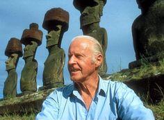 Θορ Χέιερνταλ (1914 – 2002) Sailing Adventures, Artwork Design, Cool Names, Rafting, Vintage Ads, Archaeology, South America, Norway, Mount Rushmore