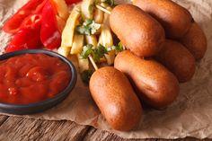 Deliciosas banderillas de salchichas, ideales para los pequeños o para pasar una tarde con tus amigos.