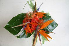 The Flower Magician: Bird of Paradise Wedding Bouquet