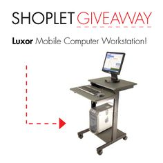 3.17 Win a Luxor Mobile Computer Workstation!
