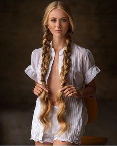 Pretty Hairstyles, Straight Hairstyles, Braided Hairstyles, Really Long Hair, Super Long Hair, Braids For Long Hair, Long Hair Cuts, Twin Braids, Beautiful Long Hair