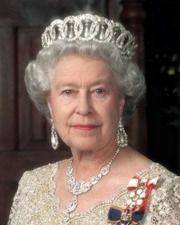 Queen Elizabeth II wearing the Grand Duchess Vladimir Tiara. Very nice picture for Queen Elizabeth II. Facts About Queen Elizabeth, Queen Elizabeth Ii, Queen Mary, Queen Mother, Queen Queen, Royal Crowns, Royal Tiaras, Isabel Ii, Her Majesty The Queen