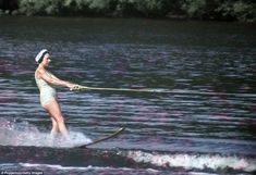Princess Margaret water-skiing at Sunninghill Park, Windsor on July This image is one of a series taken by Ray Bellisario who was credited with being the 'original paparazzo' and someone. Get premium, high resolution news photos at Getty Images Princess Anne, Princess Margaret, Queen Mother, Queen Mary, Images Of Princess, London In December, Windsor Park, Margaret Rose, Duchess Of York