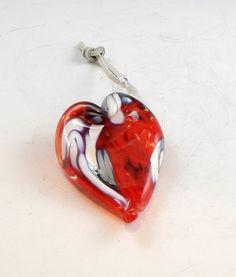HandBlown Glass Hearts Sweetheart Wave by DBRGlassworks on Etsy, $25.00