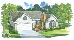 Cottage House Plan with 1418 Square Feet and 4 Bedrooms from Dream Home Source | House Plan Code DHSW45329