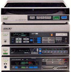 Sony Precise V7 Stereo System. 1985  #sonyv7 #sony #hifi...