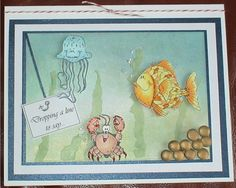 Fishy Friends by kirm2 - Cards and Paper Crafts at Splitcoaststampers