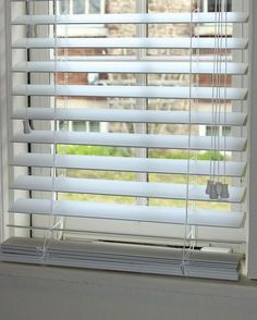 how to shorten faux wood blinds, home maintenance repairs, how to, window treatments, windows, These Levolor blinds bunched at the bottom because they were too long