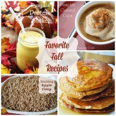 Favorite Fall Recipe Round-Up