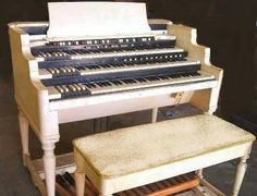 white hammond organ - Google Search