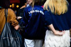 fwspectator:  Street Style atLondon Fashion Week Spring 2016