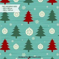 Estilo retro patrón de fondo de Navidad