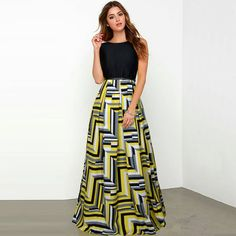 Bollywood New Party Wear Yellow Designer Printed Western Gown/Dresses With Belt Western Wear Dresses, Western Gown, Western Wear For Women, Yellow Gown, Ethnic Gown, Printed Gowns, Indian Wedding Outfits, Designer Gowns, Jumpsuit Dress
