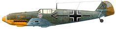 Messerschmitt Bf 109E-4 (W.Nr. 5344) Major Helmut Wick , last fight November 28, 1940