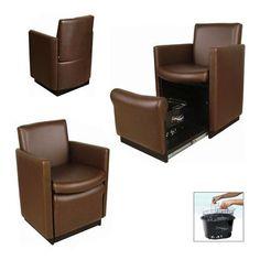 C2550 | Collins Club-Pedi Chair - Cigno | Plumbing Free Series | Keller International