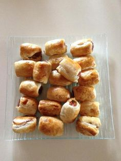 Roulés feuilletés à la saucisse : Recette de Roulés feuilletés à la saucisse - Marmiton