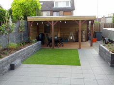 Image result for tuin met overkapping