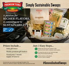 To celebrate our MSC certification of sustainability, we're giving away daily gift boxes, weekly premium gift boxes – and a supply of Genova to one lucky winner. Gift Boxes, Giving, Giveaway, Sustainability, This Or That Questions, Cooking, Chicken Breasts, Gifts, Interesting Stuff