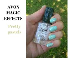 Pretty Pastel, Avon, Turquoise, Nails, Lace, Rings, Finger Nails, Ongles, Green Turquoise