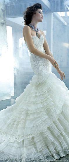 Lazaro | Bridal 2013 SO FANCY   I also love Lazaro Bridal Gown LZ3161 and LZ3305