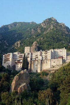 Monastery of Agios Pavlos (Saint Paul) _ 10th century, Mount Athos, Greece