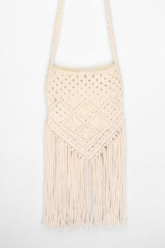 Fringe cross-body