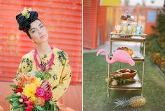 Carmen Miranda Gets Married Photographed by Jennifer Sosa Featured on Grey likes wedding Pink Flamingo Party, Pink Flamingos, Spring Wedding, Wedding Blog, Wedding Ideas, Just Married, Getting Married, Wedding Colors, Wedding Styles