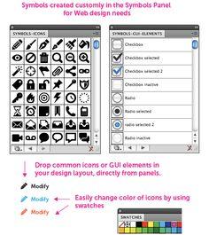 Web design with Illustrator #web_design #Adobe #Illustrator
