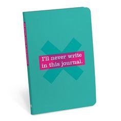 http://knockknockstuff.com/product/ill-never-write-journal-journal/