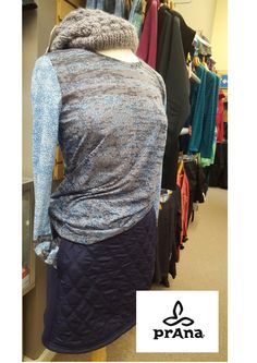 Our CC Outdoor Store mannequin decked out in new Prana