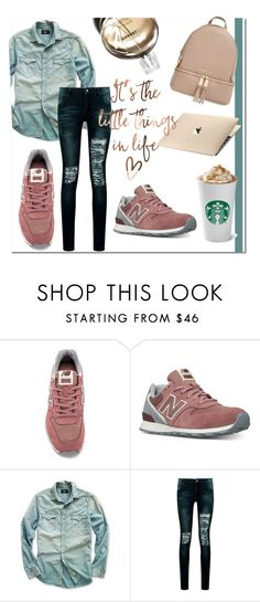 """""""Run The World"""" by tonituff ❤ liked on Polyvore featuring New Balance, Ralph Lauren, Boohoo, Chanel and MICHAEL Michael Kors"""