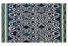 One Kings Lane - The Chic Boutique - Alessandro Rug, Blue/Ivory/Multi