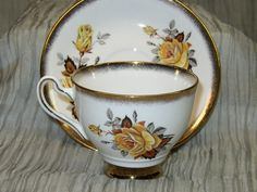 Beautiful Rosina Antique Tea Cup and Saucer