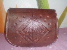 Messenger leather bag womens handbag