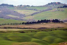 Górskie pejzaże Toskanii