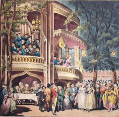 Vauxhall gardens at night.  http://labelleassemblee.blogspot.co.uk/