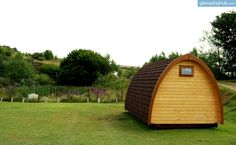 Luxury Camping in Peak District, England | Glamping in the UK #glamping  #pods  #nature  #comfortable