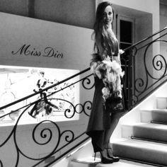 Sandra Bauknecht - Miss Dior Exhibition  http://www.sandrascloset.com/miss-dior-exhibition-in-paris/