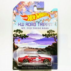 the Lamley Group: Just Released: The Hot Wheels Road Trippin' Nissan Skyline H/T 2000 GT-X is now out in Australia...