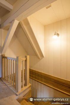 Ateliér Gabryš - Rodinný dům tradičního horského vzhledu Wooden Staircases, Stairs, Furniture, Home Decor, Stairway, Decoration Home, Wooden Stairs, Room Decor, Staircases