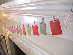 Easy Advent calendar