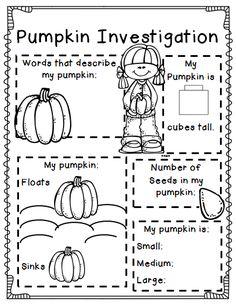 Maggie's Kinder Corner: Here's a great seasonal labeling