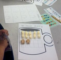 Hot Chocolate Math (for practicing teen numbers using ten frames) Math Games, Math Activities, Kindergarten Fun, Preschool, Math Night, Teen Numbers, 2nd Grade Math, Christmas Activities, Winter Theme