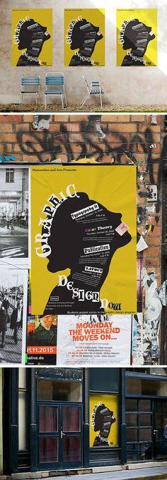 3 Poster urbanas maquetes