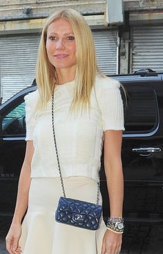 Gwyneth Paltrow and mini -Celebrities and Their Chanel Bags-32