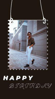 Creative Instagram Photo Ideas, Insta Photo Ideas, Instagram Story Ideas, Happy Birthday Template, Happy Birthday Frame, Birthday Wishes For Boyfriend, Girlfriend Birthday, Cool Girl Pic, Birthday Post Instagram
