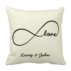 Infinity Love Pillow