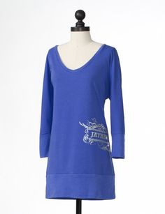 Kansas Jayhawks | Dolman Sleeve Tunic | meesh & mia perfect for leggings!