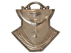 An Antique Silver Ex-Voto for a sufferer of throat or neck disease