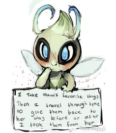 Pokemon Shaming- Celebi